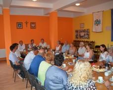 Delegacja z Landrecies w Dziemianach