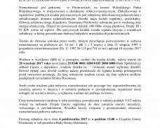 Ogłoszenie o drugim przetargu na sprzedaż nieruchomości w Piechowicach