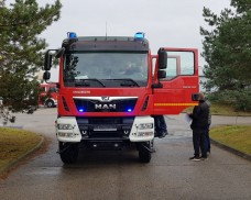 Zakup średniego samochodu ratowniczo gaśniczego dla Jednostki OSP Dziemiany