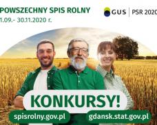 """Powszechny Spis Rolny 2020. Konkurs """"Z gospodarstwa na stół"""""""